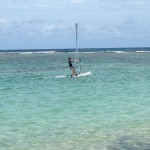 Marco windsurfing